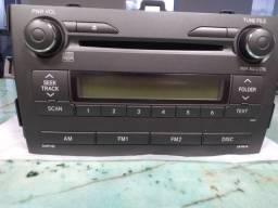 Vendo Rádio/CD Corolla 2010/2011