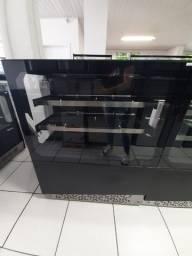 Balcão vitrine Estufa para salgados - Polar - 1 metro  vidro reto - Ricardo