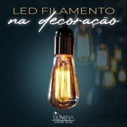 Título do anúncio: Lâmpada de filamento  - a partir 19