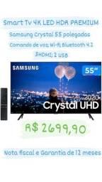 Smart Tv Samsung 4K LACRADA com Nota fiscal e Garantia de 1 ano