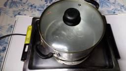 Fogão  eletrico  bandeja inox