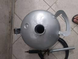 Forninho para derreter alumínio