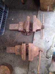 2 morsa bancada antiga n5 para restaurar