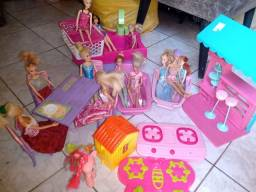 Título do anúncio: Super lote da Barbie