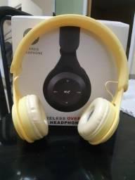 Headphone Bluetooth Novo mais uma Pulseira Inteligente