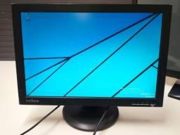 Monitor LCD 19 Proview 1 entrada VGA e alto falante integrado (não acompanha cabos)