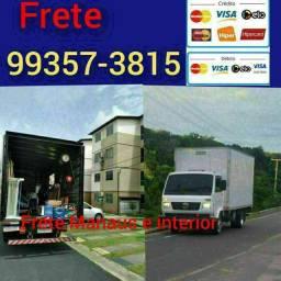 Título do anúncio: Frete baú caminhão disponível todos os bairros e interiores