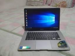 Notebook positivo HD ssd 320 GB RAM 2 GB bateria boa Teclado bom