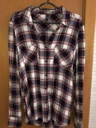 camisa xadrez (flanela)