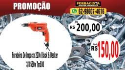 Furadeira De Impacto 220v Black & Decker 3/8 560w Tm500