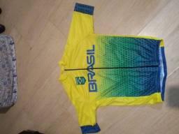 Camisa de ciclismo nova