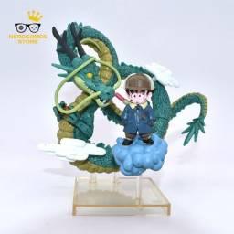 Action figure dragon ball z dragão shen long e goku