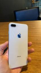 iPhone 8 Plus 64gb silver impecável