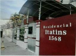 Residencial Itatins - 57m2 2 quartos e 1 vg - Pedreira