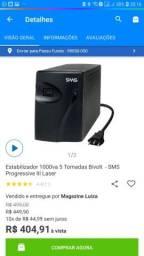 Vendo Estabilizador SMS 1000va bivolt 5 tomadas