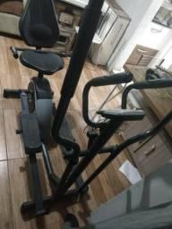 Elíptico e bicicleta ergométrica , ótimo para pernas , bumbum, braços enfim todo corpo