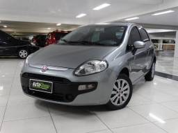 Fiat Punto Attractive 1.4 Flex Cinza - 2014
