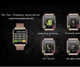 Relógio função celular Rose