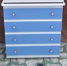 Cômodas azul