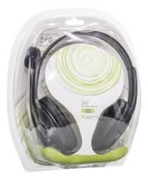 Headset Xbox 360 Bmax Headphone Xbox 360 com Controle de Volume - Loja Natan Abreu
