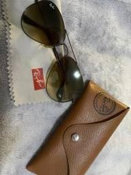 Usado, Óculos Rayban marrom degradê comprar usado  Maceió