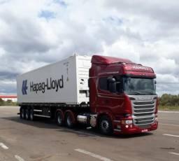 Caminhões Porta Containers e Báu - Temos Caminhão Carreta para Coletas em Itapoá