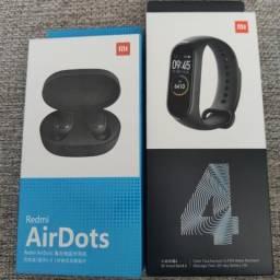 Fones sem fio da Xiaomi..Redmi Air Dots.. novo lacrado com garantia