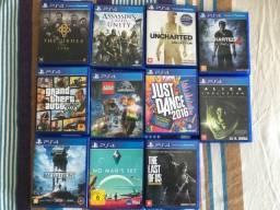 11 Jogos PS4 por R$500,00