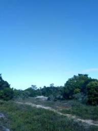 Duas áreas de terras