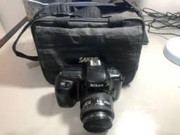 Nikon f50 com maleta de transporte