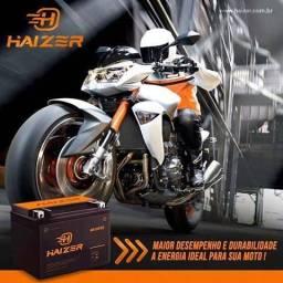 Baterias HAIZER motos 12m de garantia