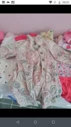 Lote roupas menina 6-12 meses