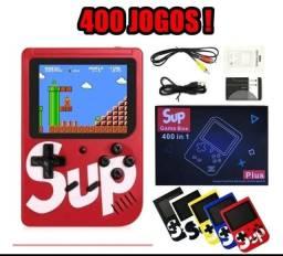 Mini Game retrô SUP com 400 jogos