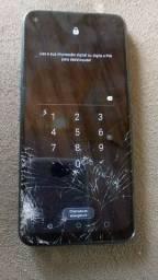 LG K61 Tela Trincada