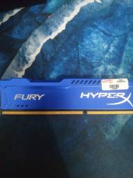 Memória ram 4gb DDR3 1866 Mhz Hyperx Fury