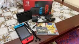 Nintendo Switch - Com uma semana de uso