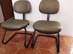 Par Cadeiras Fixas Escritório
