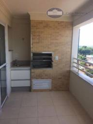 Apartamento com 3 dormitórios para alugar, 128 m² por R$ 2.000,00/mês - Icaray - Araçatuba