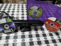 Kinect Xbox 360 mais jogos
