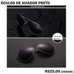 Óculos de Sol Modelo Piloto