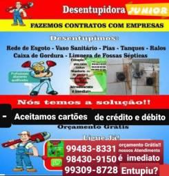 Título do anúncio: Orçamento grátis  / DESENTUPIDORA