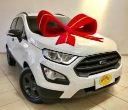 Ford - Ecosport Só 8mil km RODADOS C/ Bancos de Couro, GPS, Ar digital MOD 2018