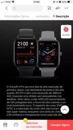 Relógio Amazfit GTS novo