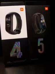 Relógio mi Smart Band 4 e 5 ,