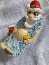 Enfeite natal Noel na banheira