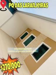 Casa nova 3 Qts/ suite terreno 10x20