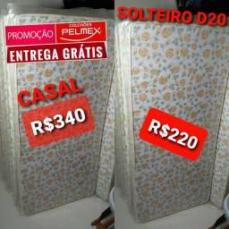Colchão colchão Pelmex 12cm D20