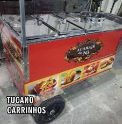 Carrinho de acarajé super lindo higienico e classico