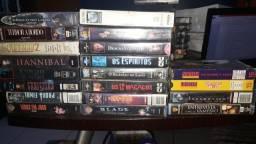 VHS de terror, suspense, terrir e ficção