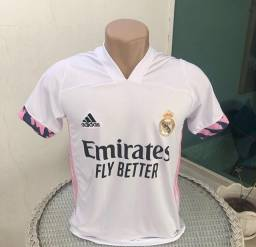 Camisa Real Madrid - Branca